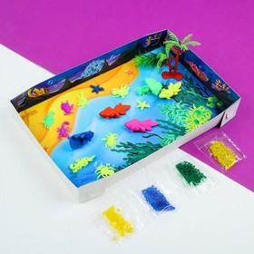 """Тактильный игровой набор """"Создай свой океанариум"""" с растущими игрушками"""