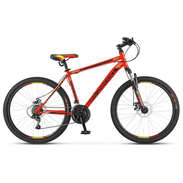 Велосипед 26 Десна-2610 MD, V010, цвет красный/чёрный, размер 20