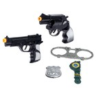 Набор оружия «Полиция», с наручниками