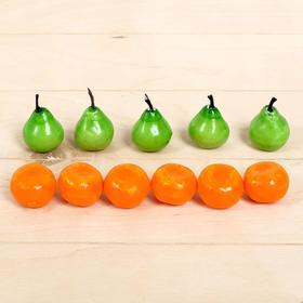 Счётный материал «Найди и посчитай: груши и апельсины», 12 шт