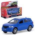 """Машина металлическая """"Renault koleos"""" 12см, открыв. двери, инерц, синий KOLEOS-BU"""