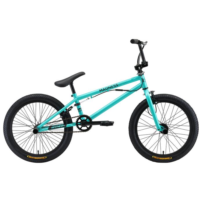 Велосипед 20 Stark Madness BMX 1, 2019, цвет голубой/чёрный