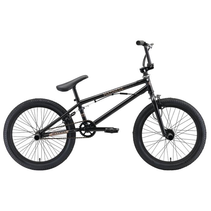 Велосипед 20 Stark Madness BMX 3, 2019, цвет черный/золотистый