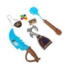 Набор пирата «Капитан крюк», 13 предметов, в пакете