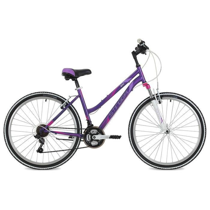 Велосипед 26 Stinger Latina, 2018, цвет фиолетовый, размер 15