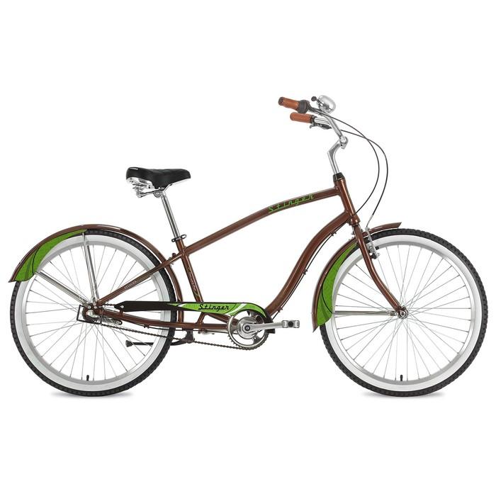 Велосипед 26 Stinger Cruiser Nexus, 2018, цвет коричневый, размер 18