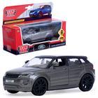 """Машина металлическая """"Land rover range evoque"""" 12,5см, открыв двери,инерц,серый EVOQUE-GY"""