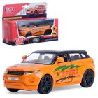 "Машина металлическая ""Land rover range evoque спорт"" 12,5 см открыв. двери,инерц EVOQUE-S"