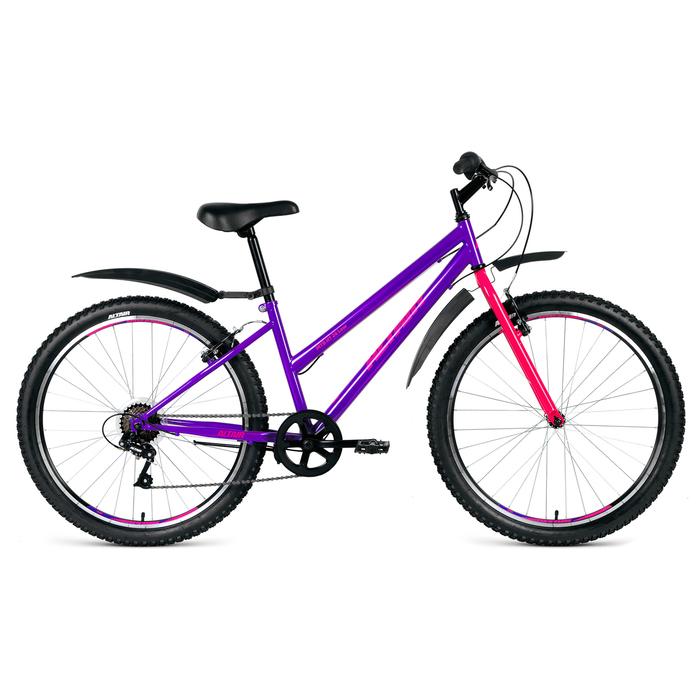 Велосипед 26 Altair MTB HT 26 2.0 Low, 2019, цвет фиолетовый, размер 15