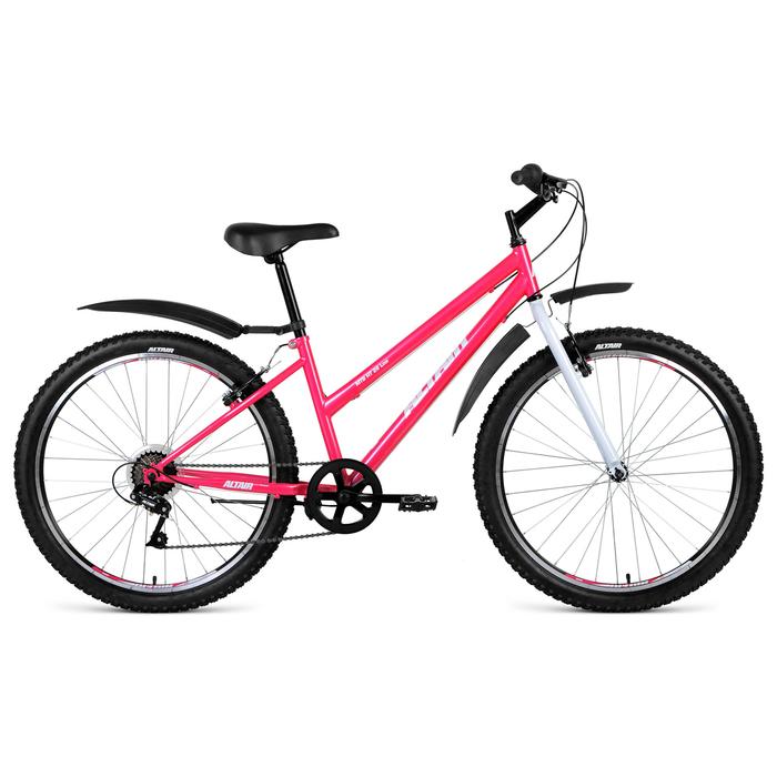 Велосипед 26 Altair MTB HT 26 2.0 Low, 2019, цвет розовый, размер 15