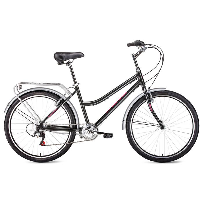 Велосипед 26 Forward Barcelona Air 1.0, 2017, цвет серый, размер 17