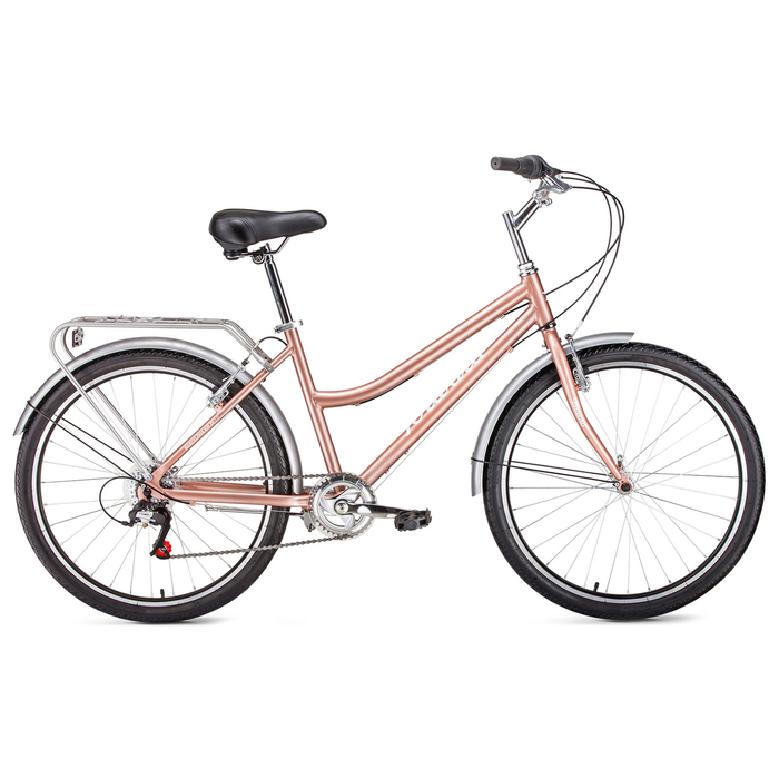 Велосипед 26 Forward Barcelona Air 1.0, 2017, цвет бежевый, размер 17