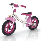 """Беговел 12,5"""" SPRINT AIR PRINZESSE, цвет розовый/белый"""