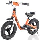 """Беговел 12,5"""" SPRINT AIR RACING, цвет чёрный/оранжевый"""