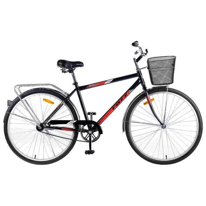 Велосипед 28 Foxx Fusion, 2018, цвет чёрный, размер 20