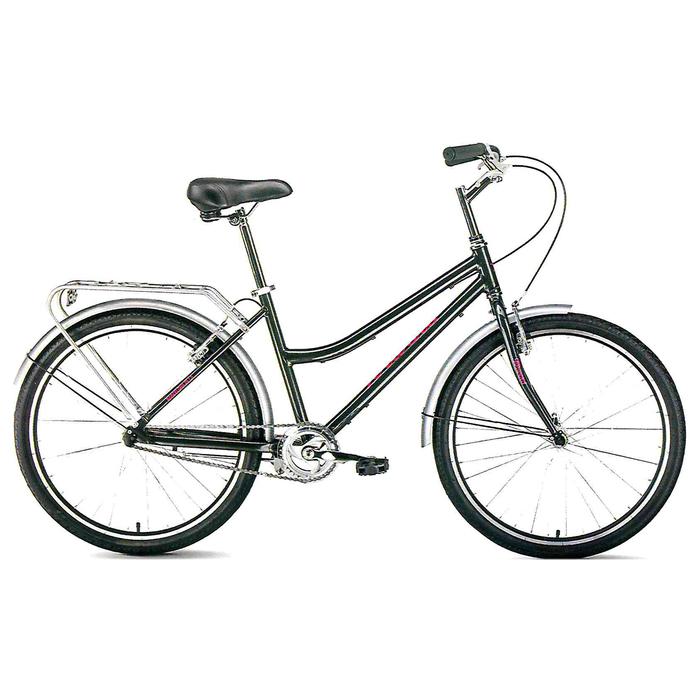 Велосипед 26 Forward Barcelona 1.0, 2019, цвет серый, размер 17