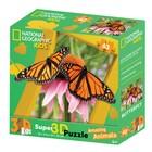 3D Пазл «Бабочка Монарх», 63 элемента