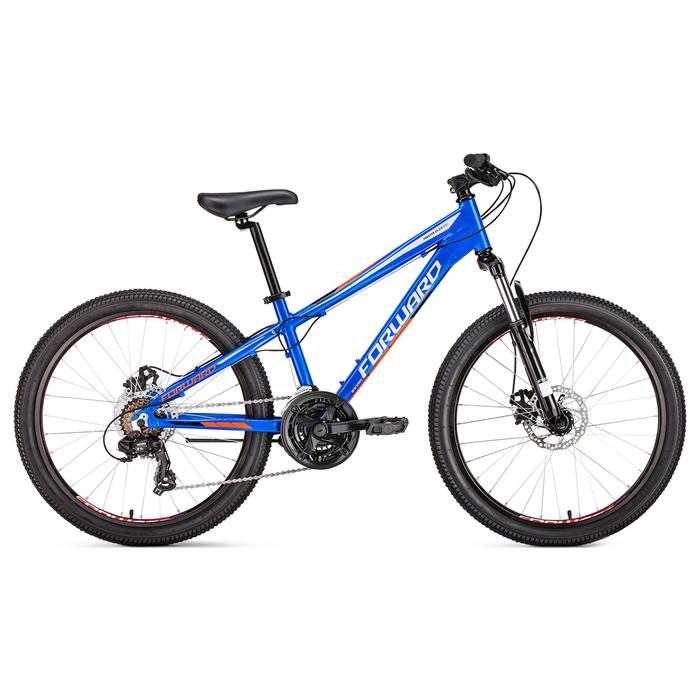 Велосипед 24 Forward Twister 2.0 disc, 2019, цвет cиний, размер 13