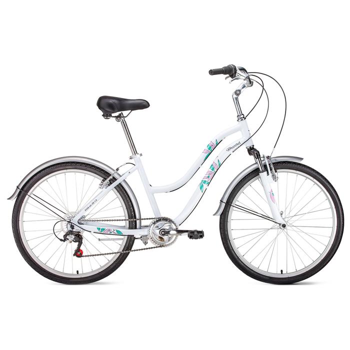 Велосипед 26 Forward Evia Air 1.0, 2019, цвет белый матовый, размер 16