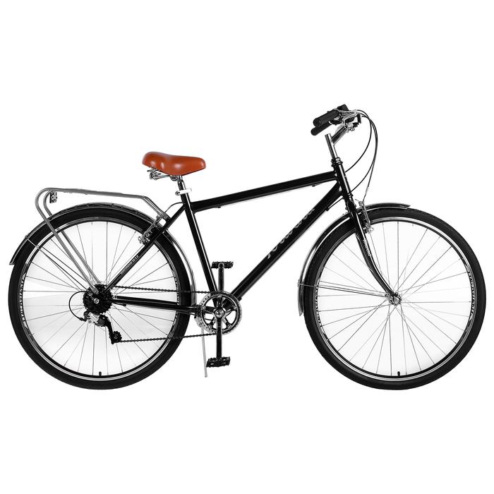 Велосипед 28 Forward Dortmund 2.0, 2019, цвет черный, размер 19