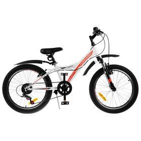 """Велосипед 20"""" Forward Dakota 20 2.0, 2019, цвет белый/красный, размер 10,5"""""""