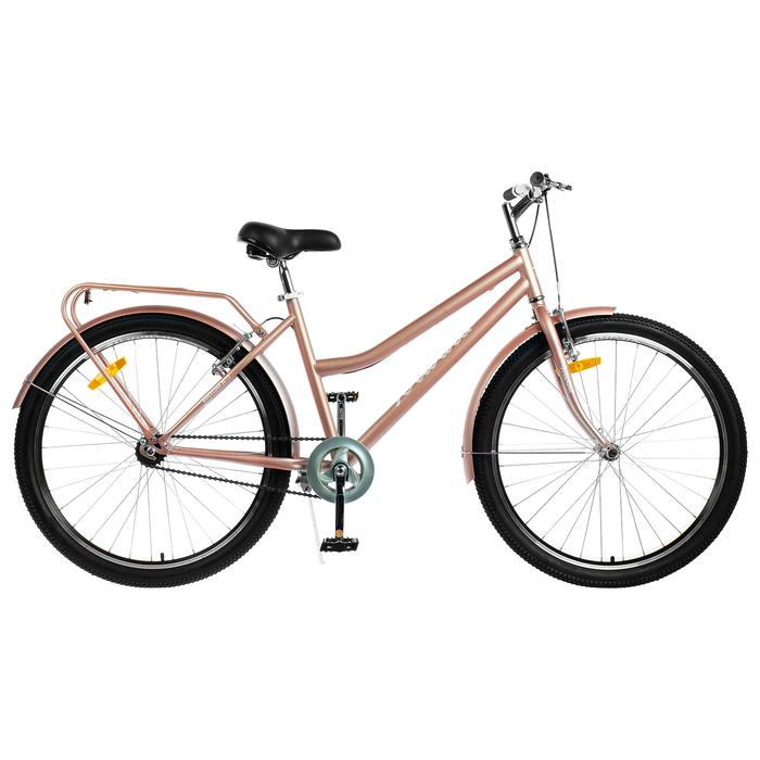 Велосипед 26 Forward Barcelona 1.0, 2019, цвет бежевый, размер 17