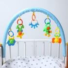 Дуга игровая мягкая на коляску/кроватку «Слоник»