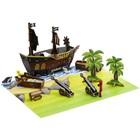 Игровой набор Stikbot «Пиратский корабль»