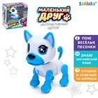 Интерактивный щенок «Джек», рассказывает сказки, стихи, цвет голубой