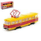 Городской трамвай, 23 см, инерционный, светозвуковые эффекты 12-428-2