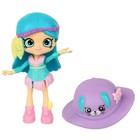 Игровой набор с куклой Shoppie «Пёрышко Физ»