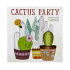 Cactus party. Раскраска-оазис для творчества и вдохновения