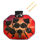 Коврик музыкальный «Барабанщик», звуковые эффекты, работает от батареек, в пакете