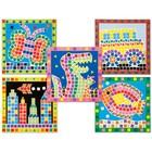 Игровой набор «Мозаика-стикеры», 5 основ