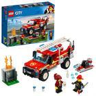 Конструктор Lego «Грузовик начальника пожарной охраны», 201 деталь