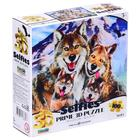 3D Пазл 100 элементов «Волки селфи»