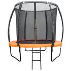 Батут DFC KENGOO 6 футов (183 см) внутр.сетка, лестница, оранж/черн