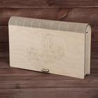 Деревянные кубики «Буквы и цифры» 18 деталей в коробке, куб 5х5 см
