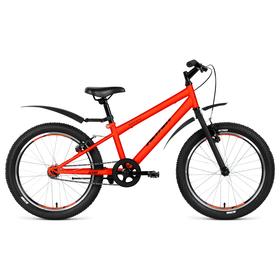 "Велосипед 20"" Altair MTB HT 20 1.0, 2019, цвет оранжевый матовый, размер 10,5"""
