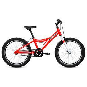 """Велосипед 20"""" Forward Comanche 1.0, 2019, цвет красный/белый, размер 10,5"""""""