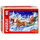 Пазл 60 элементов «Добрый Дедушка Мороз»