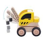 Деревянная игрушка Miniworld «Мини-кран»