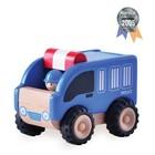 Деревянная игрушка Miniworld «Полицейская машинка»