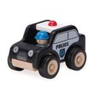 Деревянная игрушка Miniworld «Полицейский патруль»