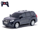 Машина радиоуправляемая Toyota Land Cruiser Prado, масштаб 1:24, работает от батареек, свет, цвет чёрный