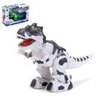 Динозавр-робот «Рекс», работает от батареек, световые и звуковые эффекты, МИКС
