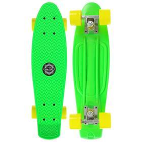 Скейтборд M-550, размер 56x14 см, колёса PVC 55х40 мм, цвета МИКС