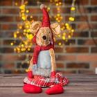 Мягкая игрушка «Мышка» красные ботиночки
