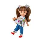 Кукла виниловая BERJUAN Luci Vestido Vaquera, 22см