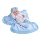 Кукла виниловая BERJUAN Newborn Nino, 45см